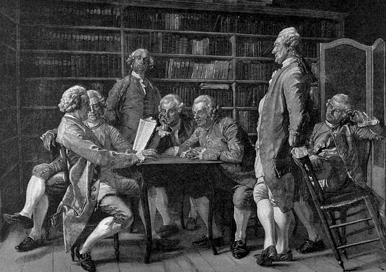 role of philosophers in french revolution