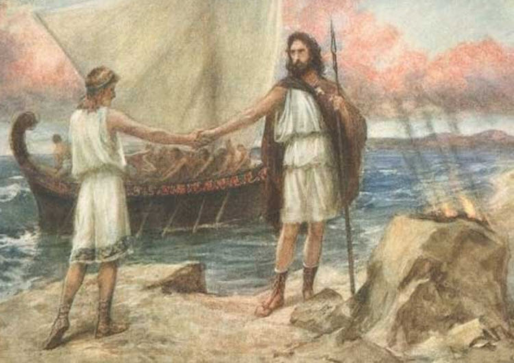 relationship between telemachus and eumaeus odyssey